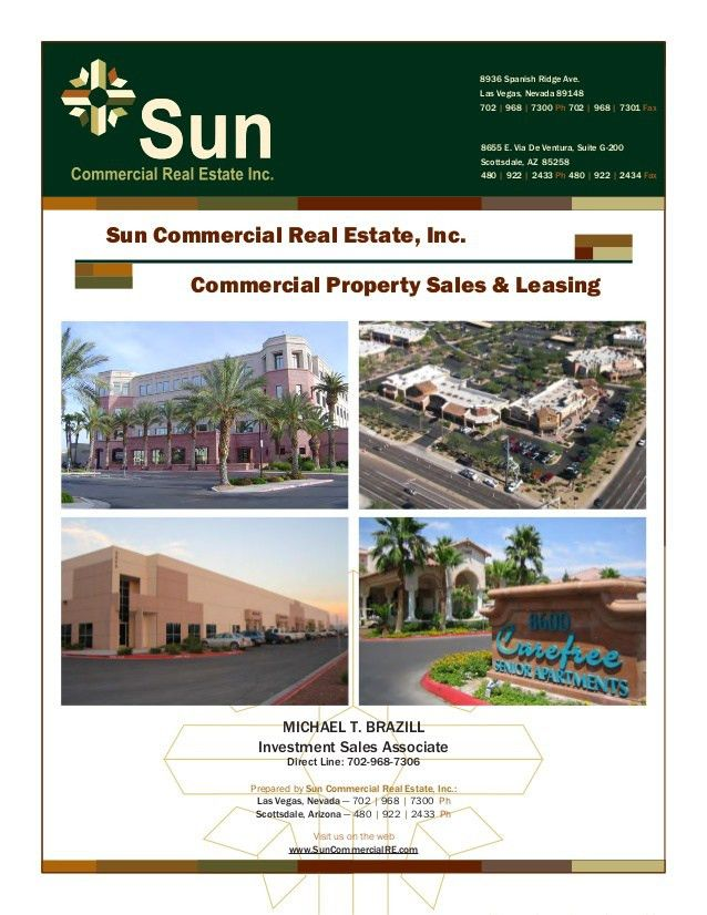 Sun Commercial Info Package - MB