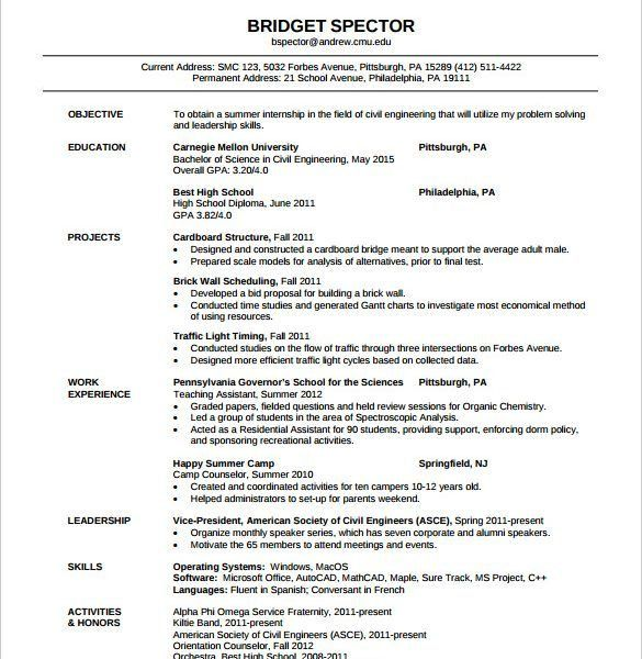 Download Environmental Test Engineer Sample Resume ...