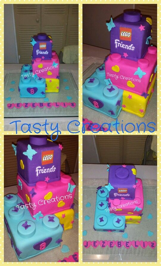 1000+ images about Lego cakes on Pinterest   Lego friends birthday, Lego friends cake and Lego ...