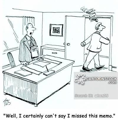 Inter-office Communications Cartoons and Comics - funny pictures ...