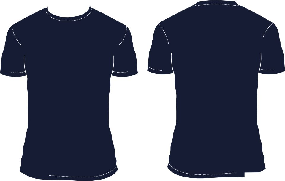 Free vector graphic: T Shirt Template, Blank Shirt - Free Image on ...