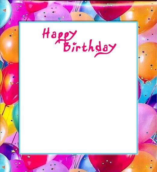 Birthday Invitation Borders Clip Art (45+)