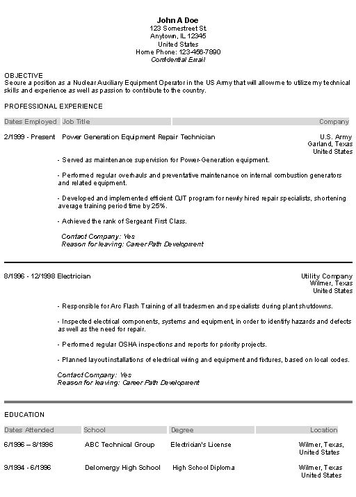 related free resume examples. militaryresumeexamplepng. airforce ...