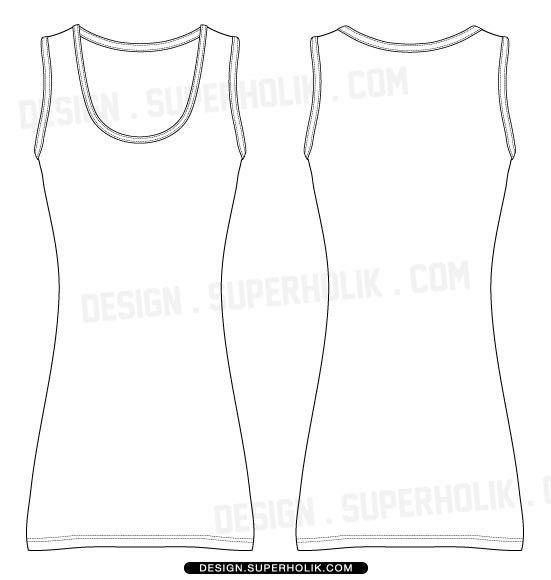 Fashion design templates, Vector illustrations and Clip-artsDress ...