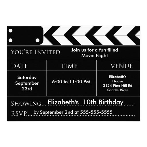 22 best 7th Birthday Party Invitations images on Pinterest ...