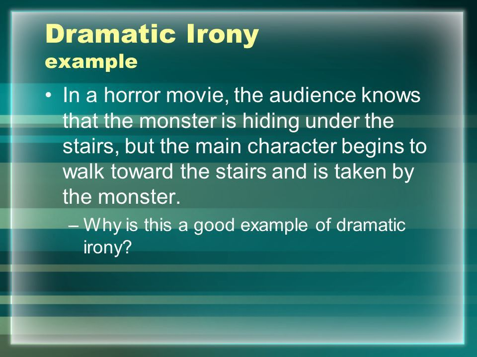 Irony. - ppt video online download