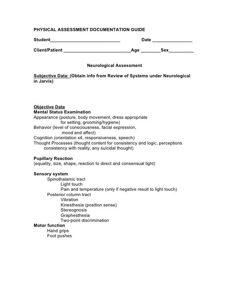 28+ Necrological Speech Sample | Neurological Assessment Nursing ...