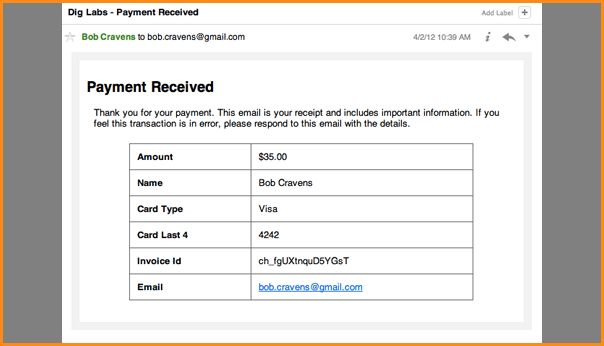 11+ credit card receipt template | Invoice Template Download
