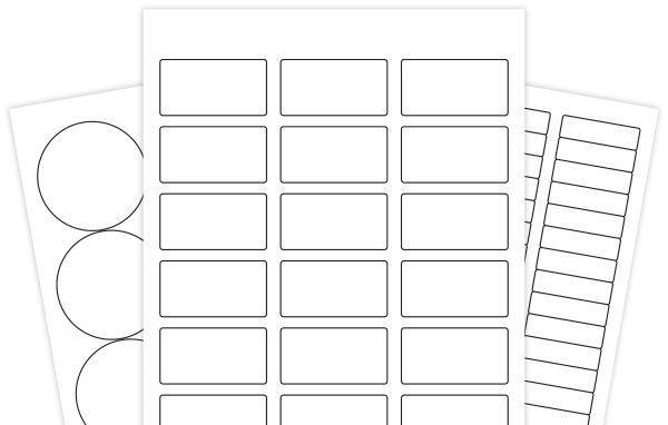 Label Templates for Microsoft Word, PDF, Maestro Label Designer ...