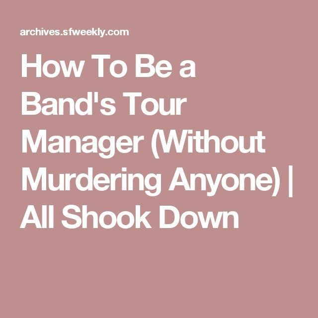 The 25+ best Tour manager ideas on Pinterest | Business baby ...