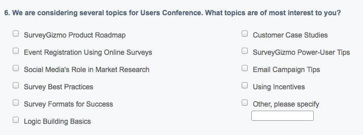 New Quantitative Research Questions in Online Surveys