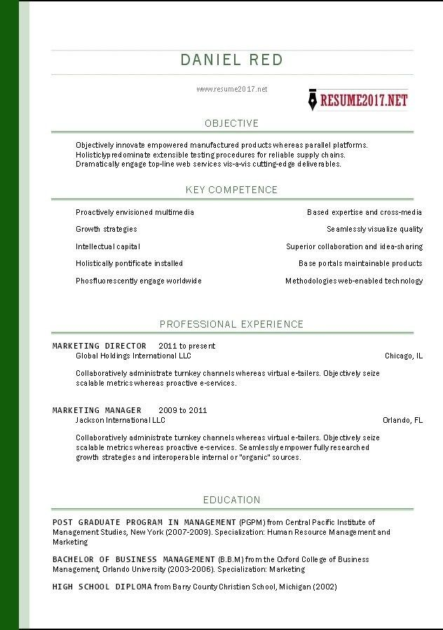 Business Resume Template Word. Modern Business Resume Template 30+ ...