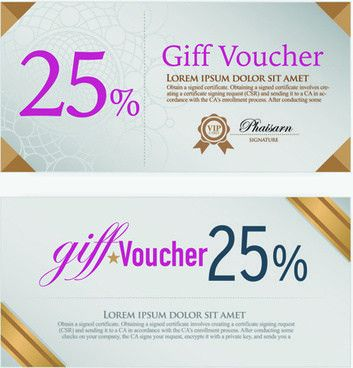 Vector voucher template free vector download (12,515 Free vector ...