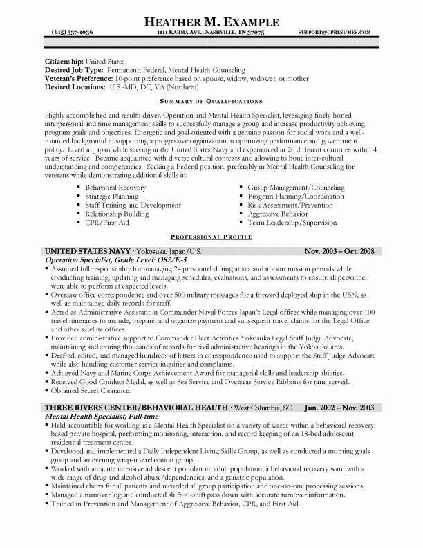 federal resume format federal resume template 10 free word excel
