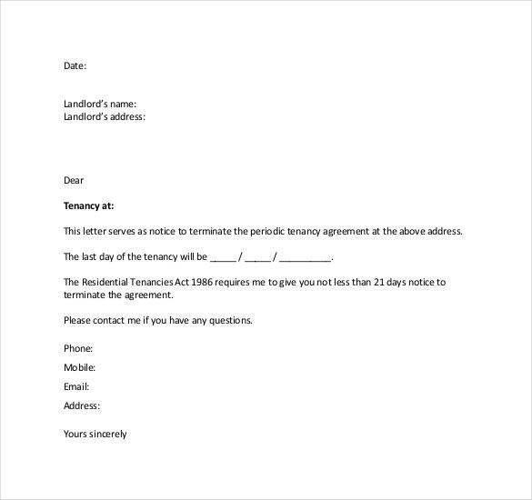 Awesome Termination Letter Templates Photos - Best Resume Examples ...
