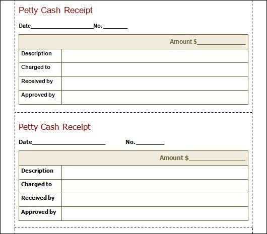 Sample Cash Receipt Template - 21+ Free Documents in PDF, Word
