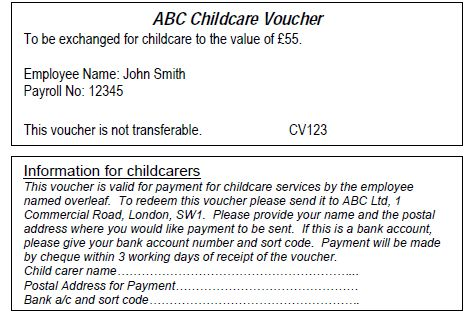 Childcare vouchers - >>Nimble Jack Accounting