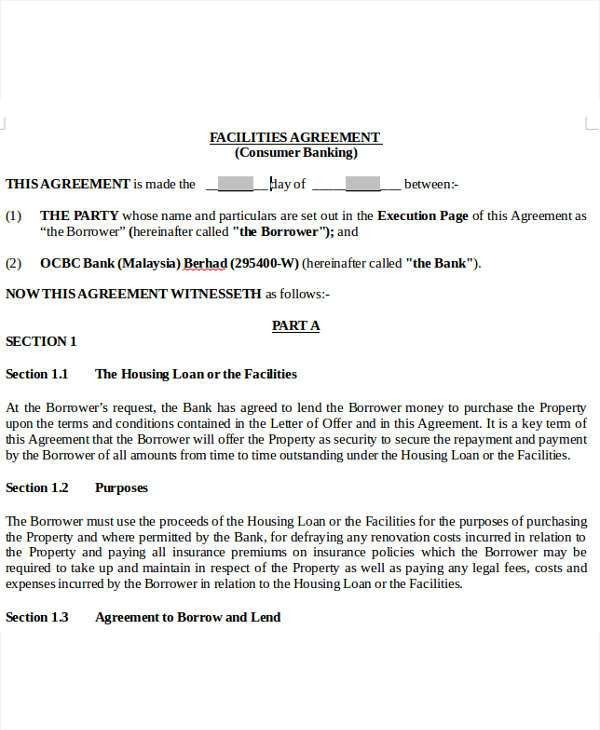 Loan Offer Letter Template - 7+ Free Word, PDF Format Download ...