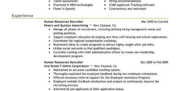 associate recruiter resume top 8 associate recruiter resume