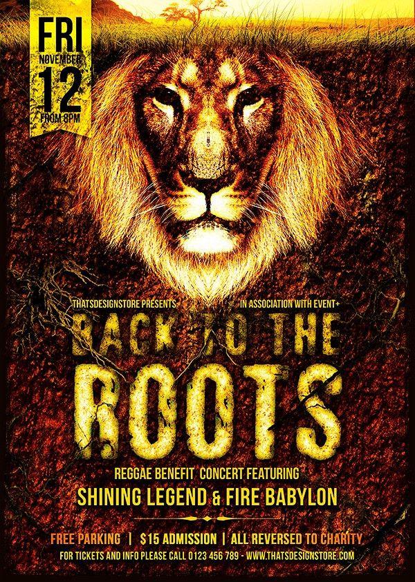 Reggae Flyer Template V5 | TDS