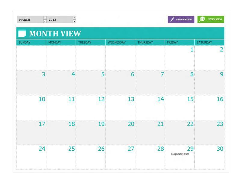 Student Agenda Template. Student Daily Assignment Planner Template ...