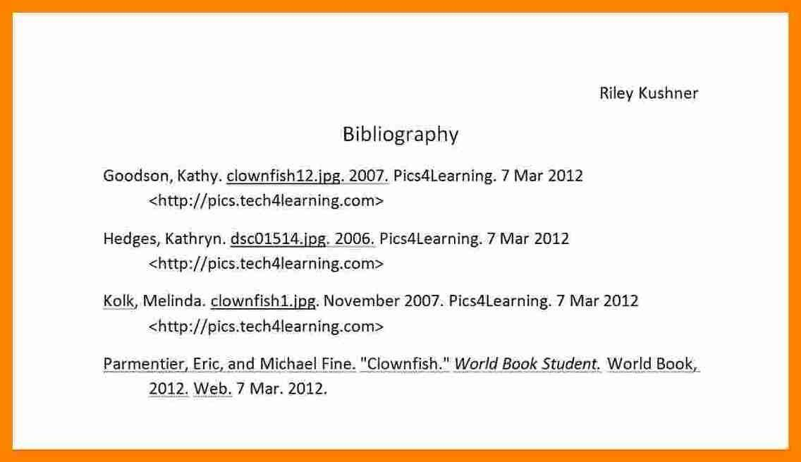 6+ sample bibliography for mla style | buyer resume