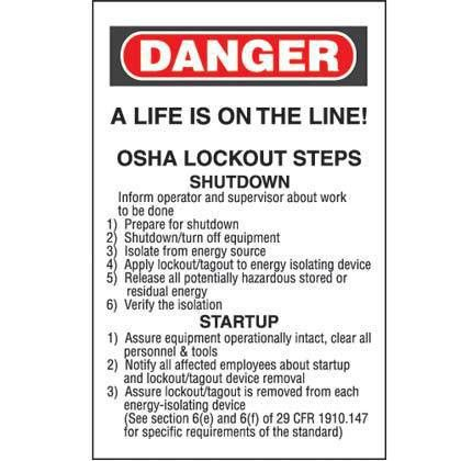 Safety Equipment & Supplies Lockout / Tagout Lockout Kit & Station ...