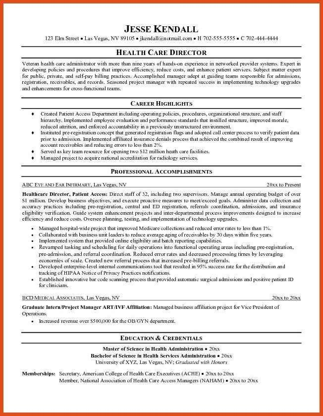 resume objectives samples | moa format
