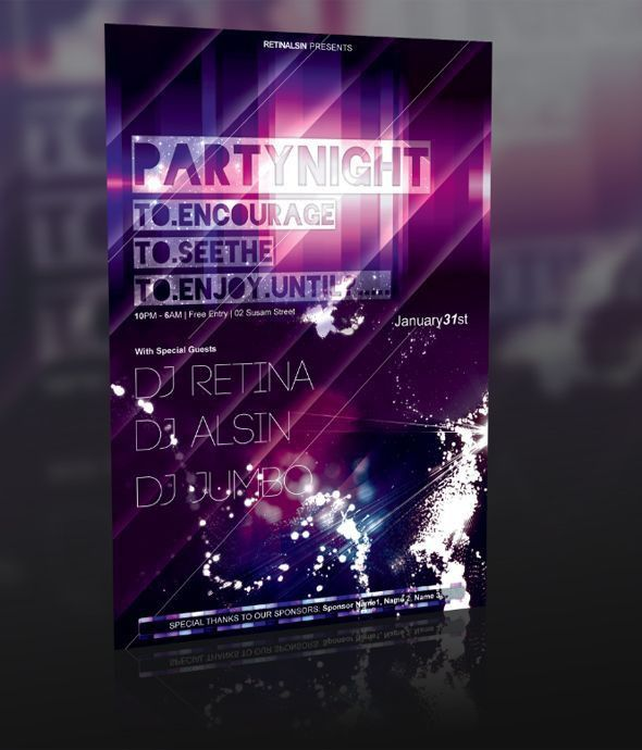22 best Flyer Printing images on Pinterest | Flyer printing, Party ...