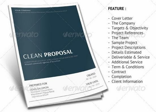 40 Profesional Business Projects Proposal Templates — BOMagazine