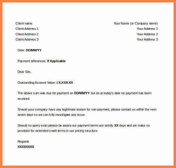 Download Invoice Letter Example | rabitah.net