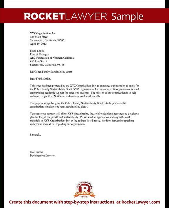 Letter Of Commitment For Business   The Letter Sample
