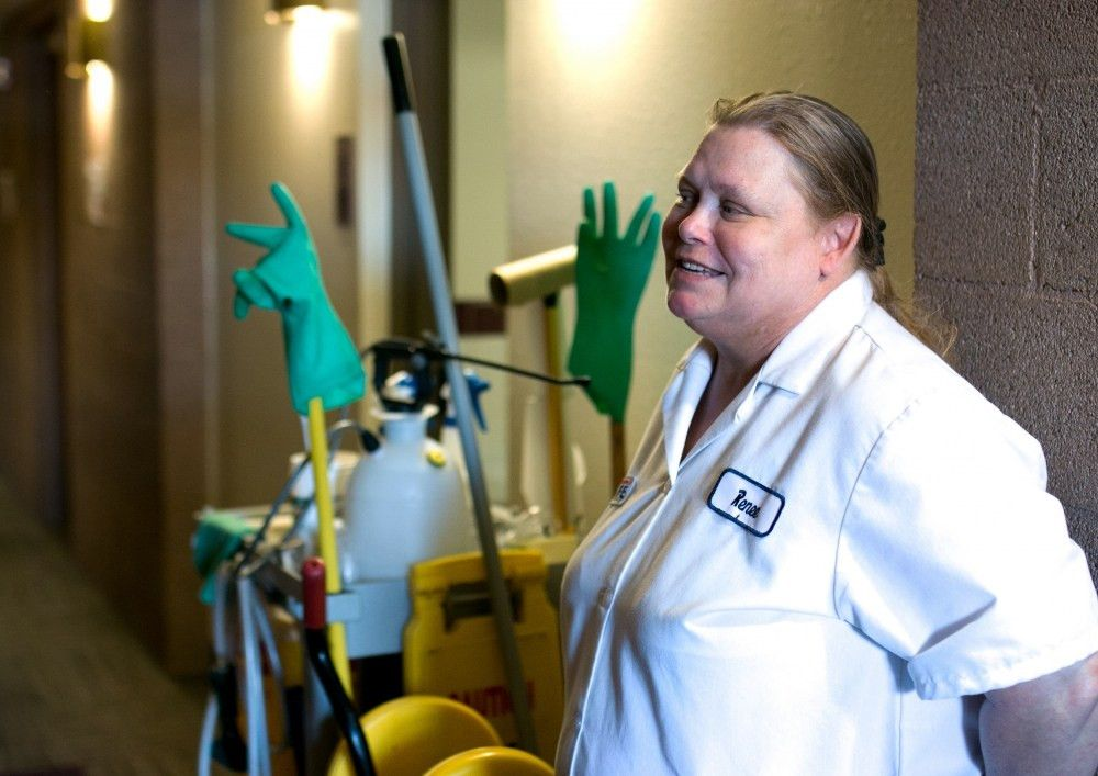 Beyond the Broom: Custodian Renee Larrick tells us why she loves ...