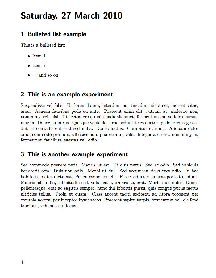 LaTeX Templates » Laboratory Books