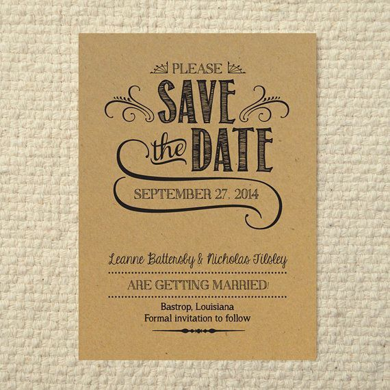Best 25+ Save the date templates ideas on Pinterest | Save the ...