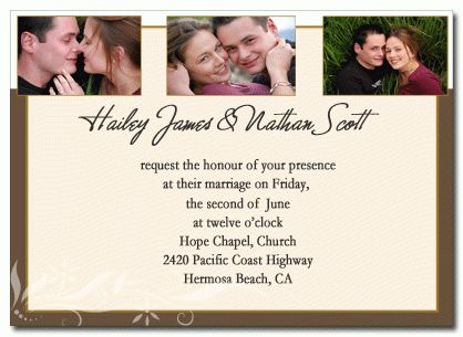 Homemade Wedding Invitations Templates | wblqual.com