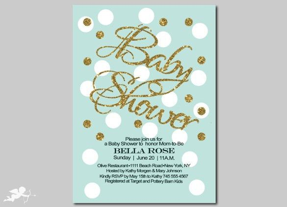 Baby Shower Invite Template - plumegiant.Com