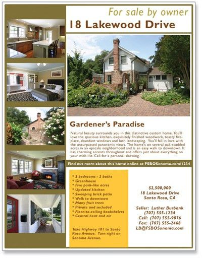 real estate flyer ideas | Photography For Real Estate » Expand ...