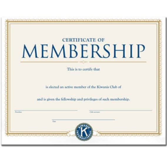 Membership Certificate Template | Free Printable Word Templates,