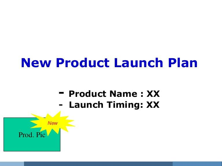 Launch plan template