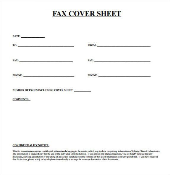 Printable fax cover sheet Archives - CALENDAR PRINTABLE WITH ...