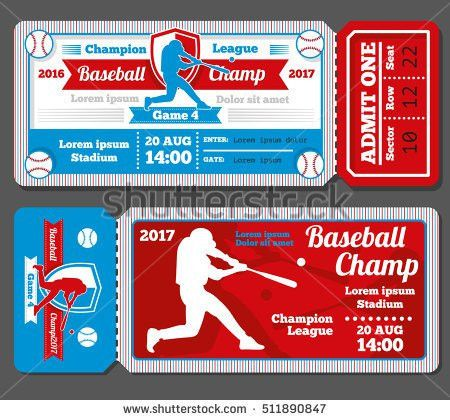 Baseball Ticket Stock Images, Royalty-Free Images & Vectors ...