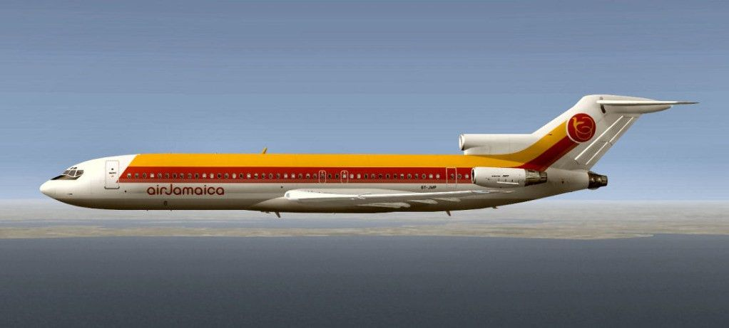 Air Jamaica 727-200 early livery | HJG Message Boards