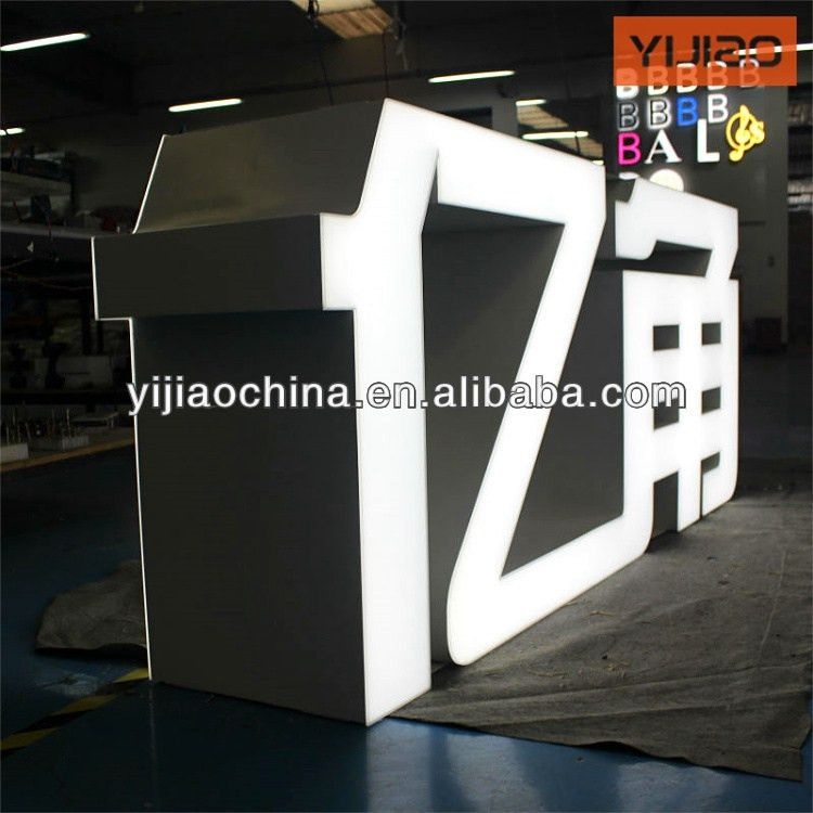Big Led Letters, Big Led Letters Suppliers and Manufacturers at ...