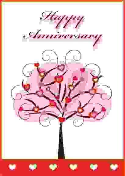 printable anniversary card | Sponsorship letter