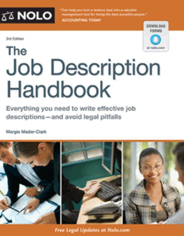 The Job Description Handbook - Business Management - HR Topics ...