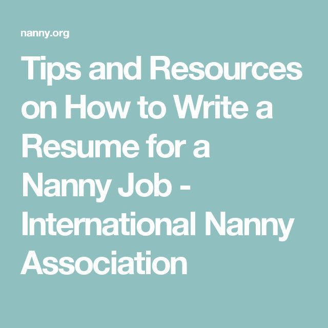 Best 25+ Nanny jobs ideas on Pinterest | Nanny binder, Summer ...