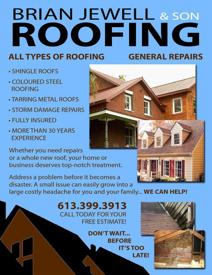 Roofing Flyers - Home Design Ideas and Pictures