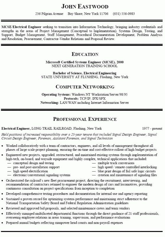 Resume Examples Career Change – Resume Examples