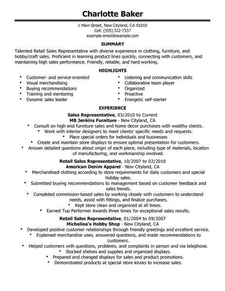 sample resume for customer service retail unforgettable customer